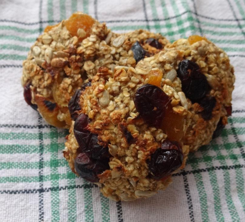 Owsiane ciasteczka bez mąki (dietetyczne)