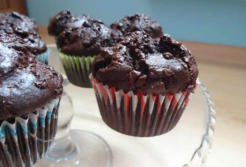 Mocno czekoladowe muffiny Nigelli