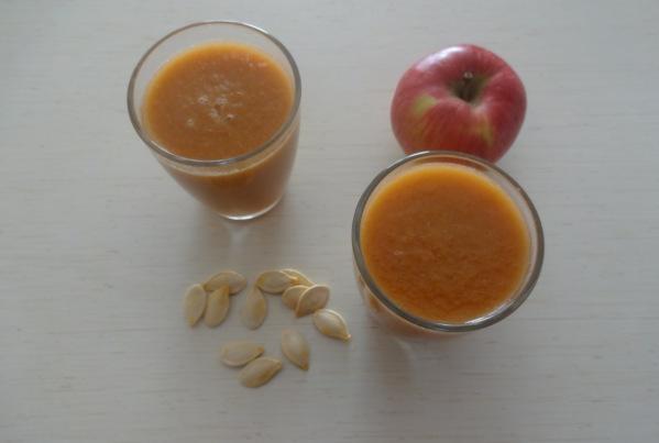 sok z dyni i owoców